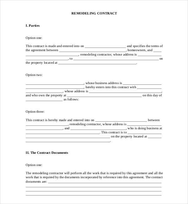 Examples Of Contracts Between Two Businesses Non Disclosure