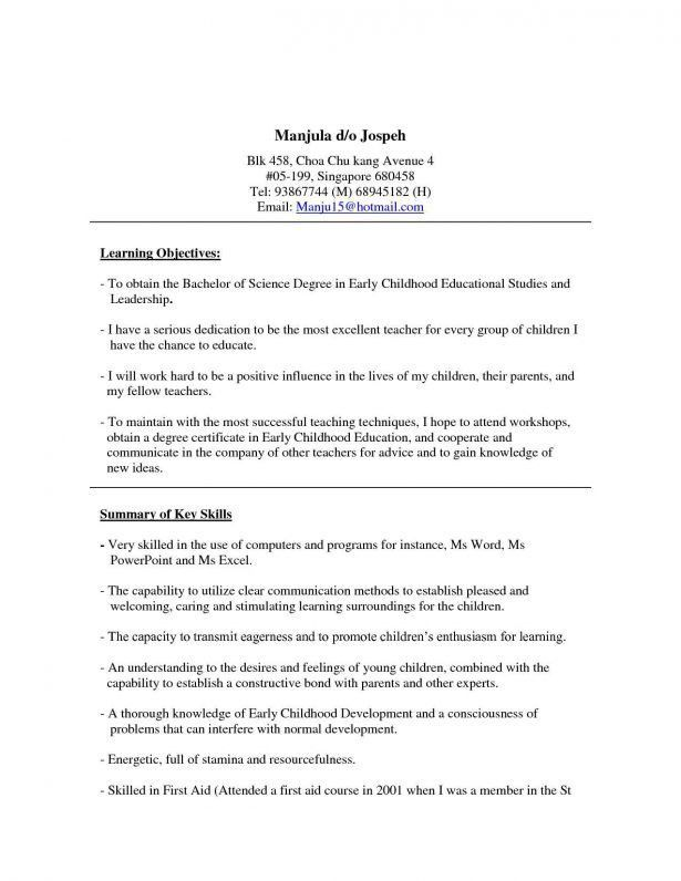 Resume : Sample Project On Marketing Management How To Write A ...