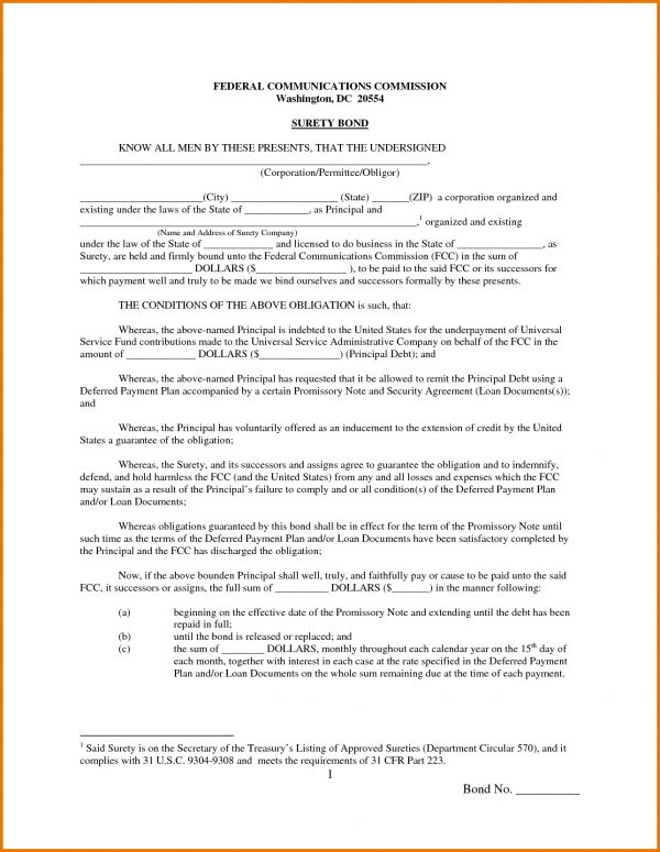 Promissory Note Template Free Download.1046146.png | Scope Of Work ...