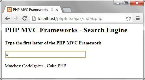 PHP Ajax Tutorial with Example