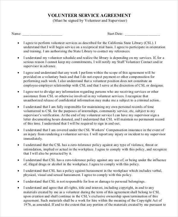 Service Agreement Template - 10+ Free Word, PDF Documents Download ...