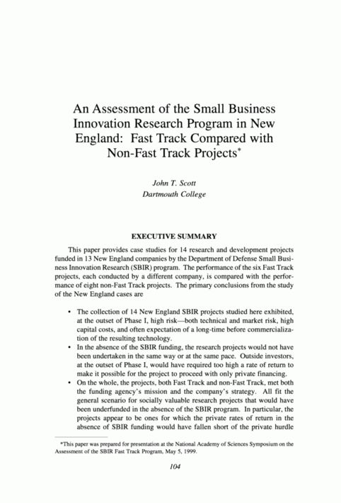 Executive summary research report example - Writing And Editing ...