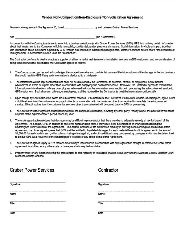 Simple Business Contract Simple Contract Template Peerpex