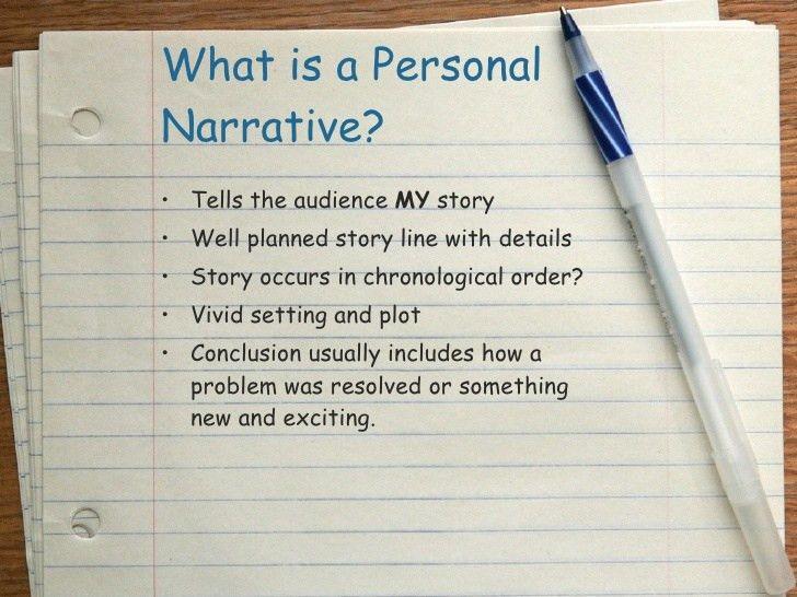 Personal Narrative