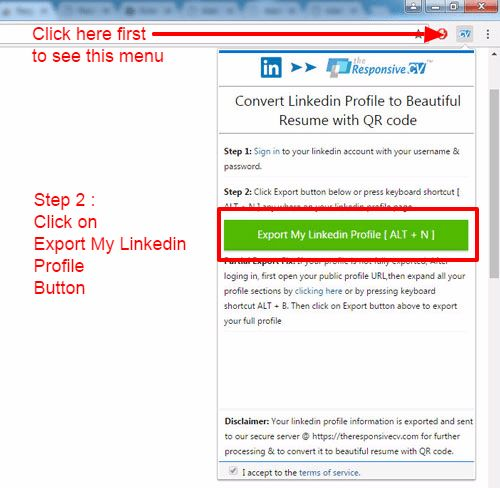 Make A Resume From Your Linkedin Profile. 10 tips to make your ...