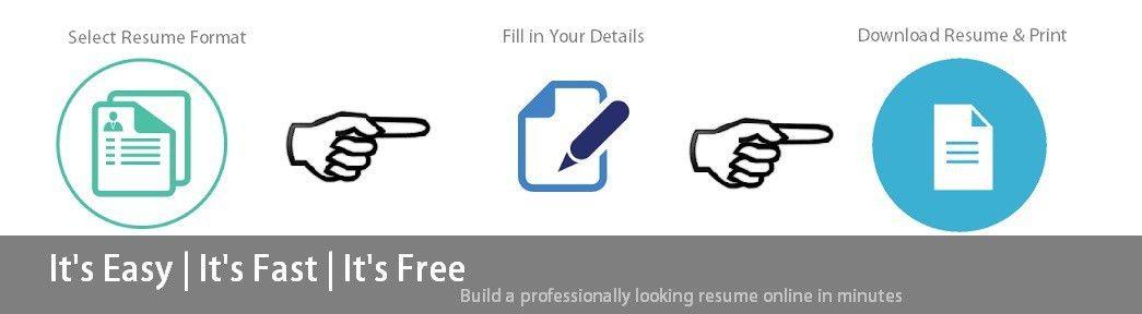 Free Instant Resume Builder Online