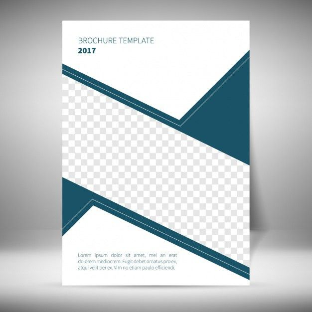 one page brochure templates