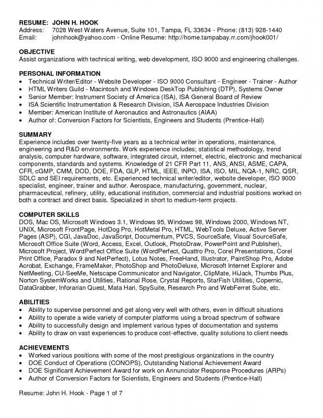 Writers Resume, award-winning ceo sample resume - ceo resume ...