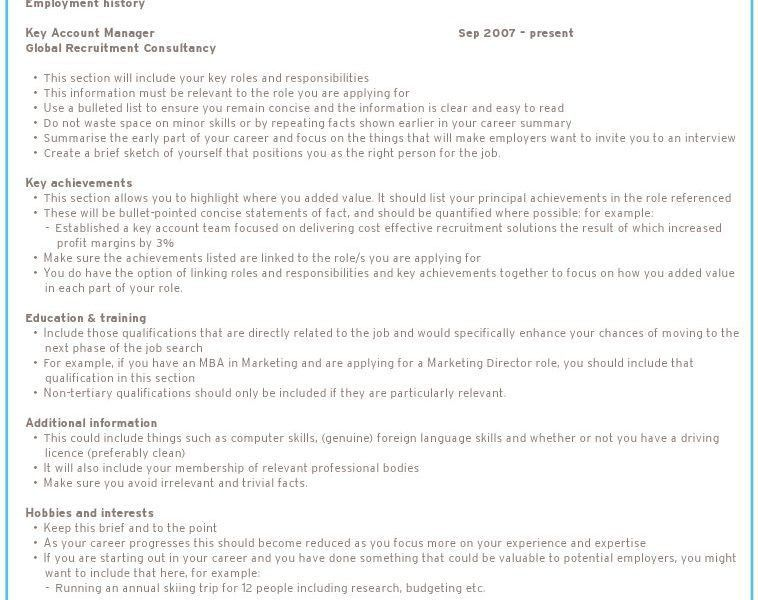 how to make a perfect resume step by step