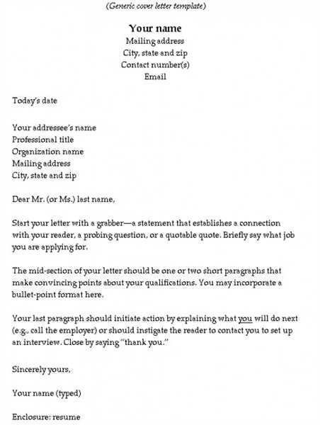 How to Write a Strong Cover Letter | eHow