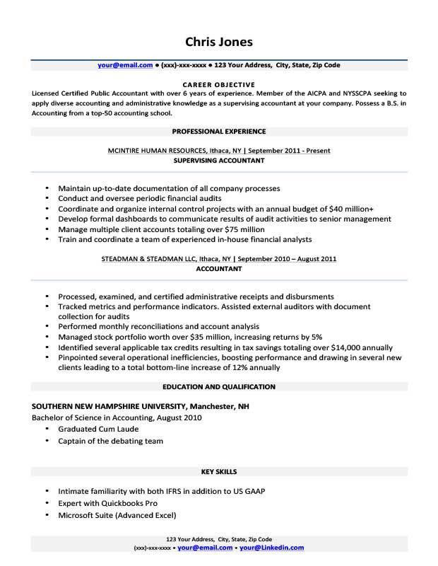 Basic Resume Templates | Browse, Download, Print | Resume Companion