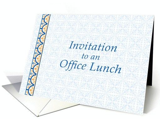 Office Luncheon Invitation Images - Reverse Search