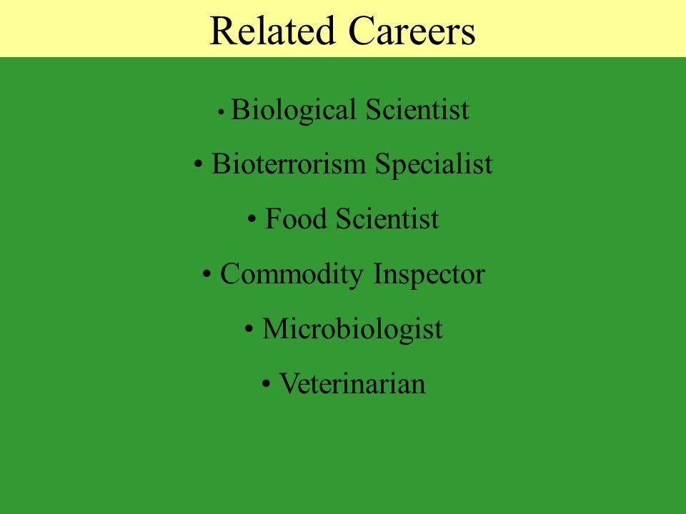 Careers in Agriculture By: Dr. Frank Flanders and Jennie Simpson ...
