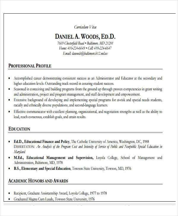 28+ Teacher Resume Templates Download | Free & Premium Templates