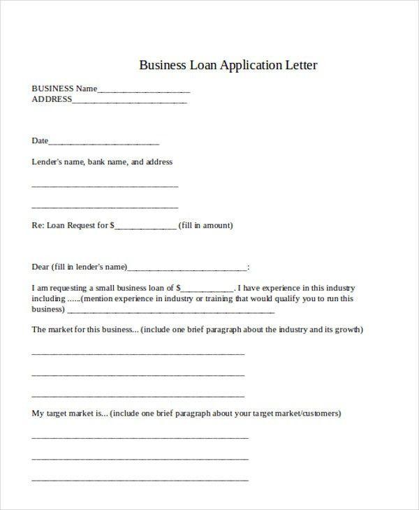 34+ Application Letter Samples   Free & Premium Templates