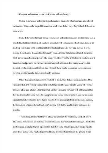 Essay for friends