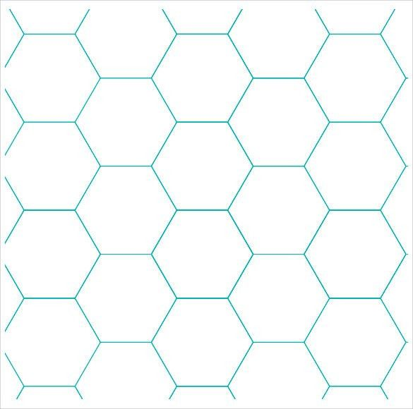 Sample Hexagon Graph Paper - 6+ Documents in PDF, PSD