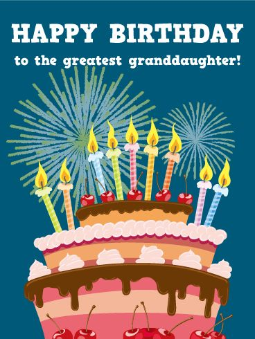 Free Birthday Cards For Granddaughter - lilbibby.Com