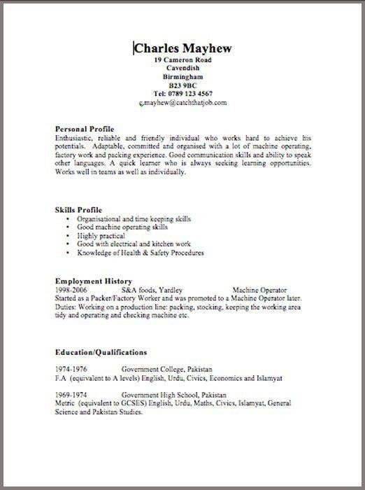 cv-template-3 | Resume Cv Design | Pinterest | Cv template and ...
