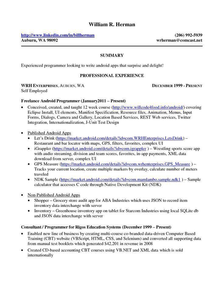 Download Self Employed Resume | haadyaooverbayresort.com