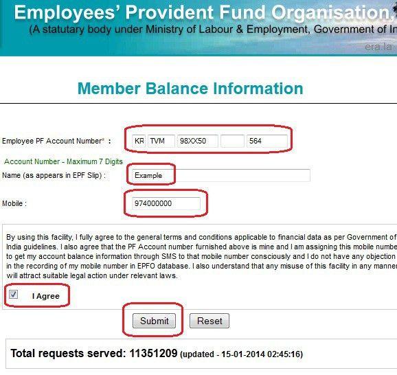 Check EPF Balance Online – EPF Details