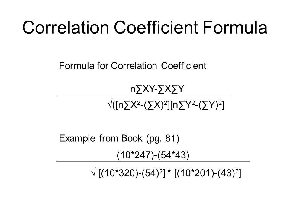 Chapter 5: Correlation Coefficients - ppt download