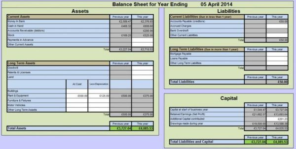 Accounting Spreadsheet Excel Small Business Accounting Spreadsheet ...