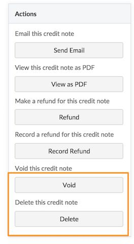 Credit Notes - Chargebee Docs