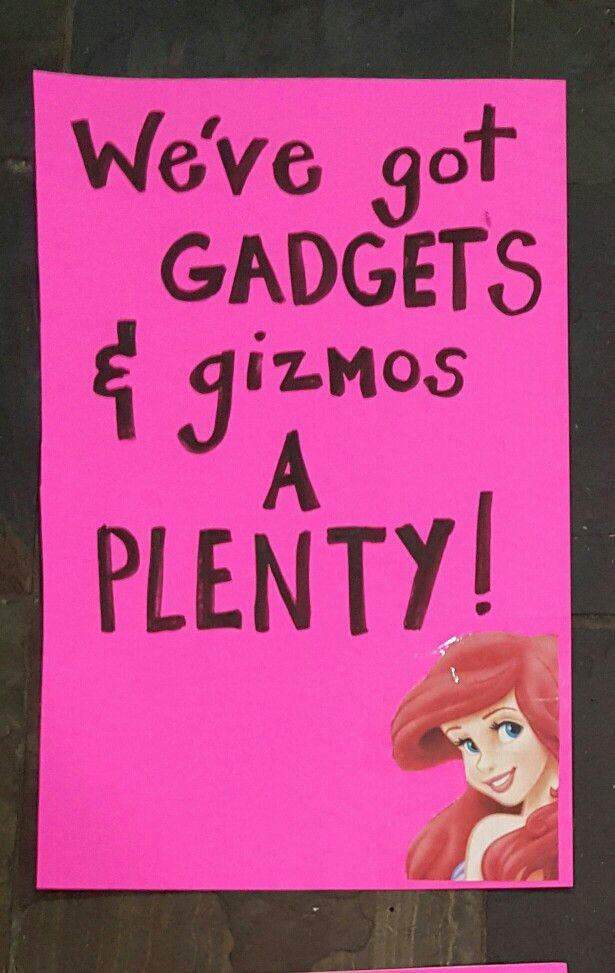 Little mermaid Garage yard sale sign | yard sale signs | Pinterest ...