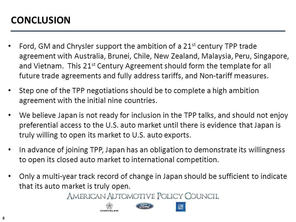 THE TRANS-PACIFIC PARTNERSHIP FTA & JAPAN - ppt download
