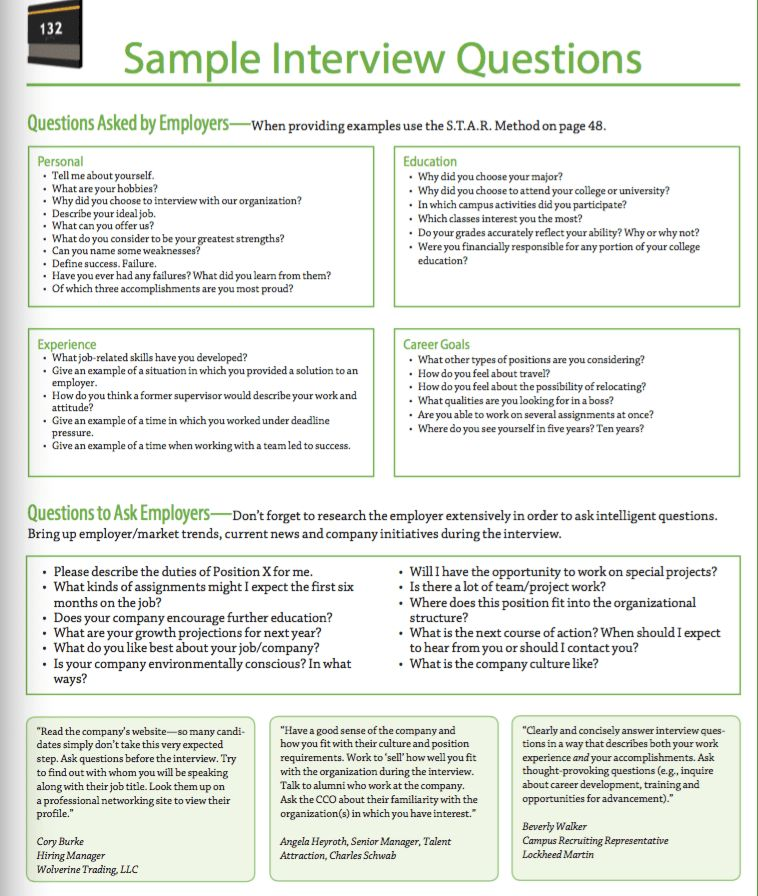 Sample Interview Questions - http://resumesdesign.com/sample ...