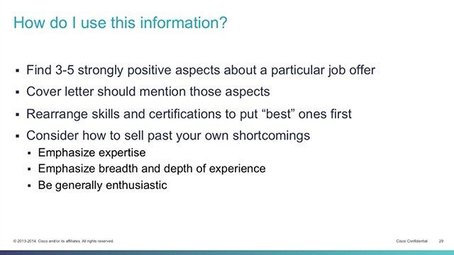 How to Write Your Resume Work Experience Section - The Cisco ...