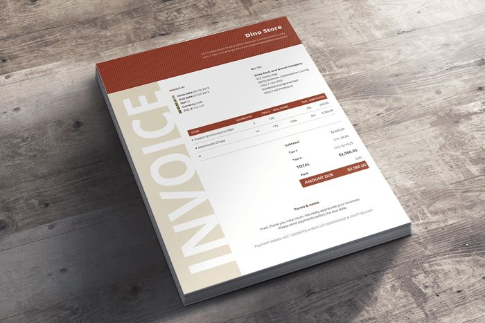 Invoice Templates Bundle - 30+ Creative Self-Calculating Invoices ...
