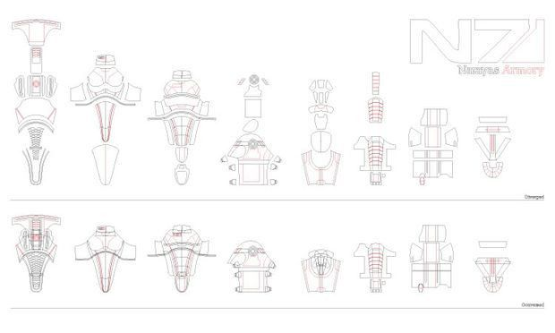 Making Mass Effect Armor Out of Foam: 5 Steps