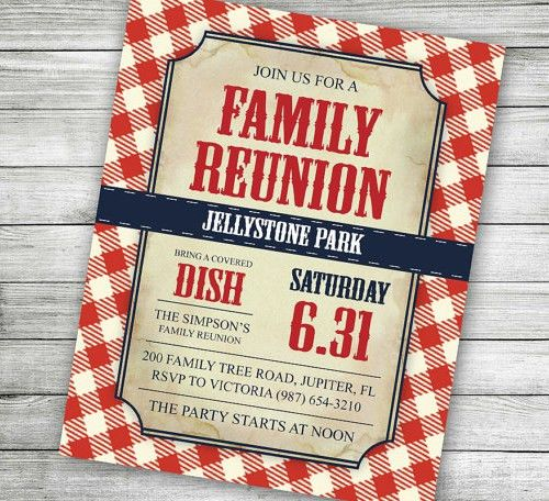 Family Reunion Invitation Letter Template | 25 Family Reunion ...