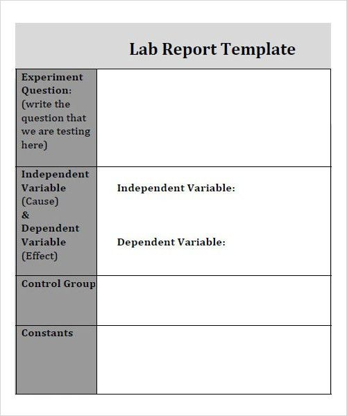 7+ Free Report Templates - Word Excel PDF Templates