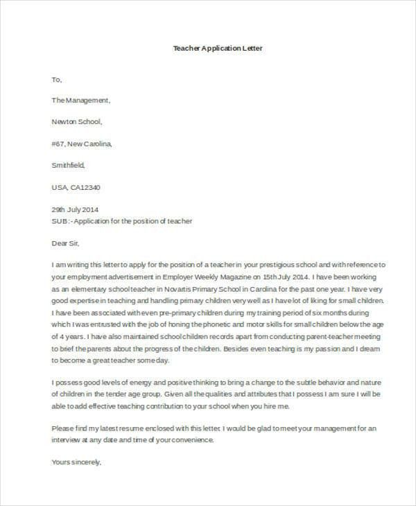 22+ Application Letter Templates in Doc | Free & Premium Templates