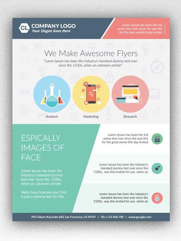 25 Professional Corporate Flyer Templates   Design   Graphic ...