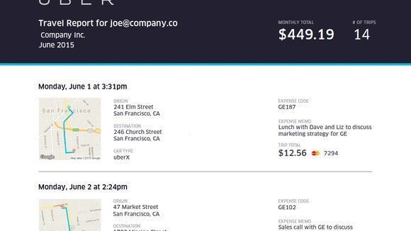 Uber adds suite of work expense tools in new Business Profiles upgrade
