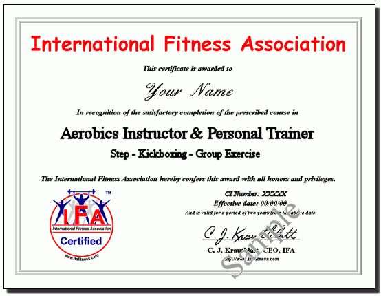 Fitness certificates awards certificates stepbystepfitnesspdxcom 6 fitness certificate templates certificate templates yelopaper Image collections