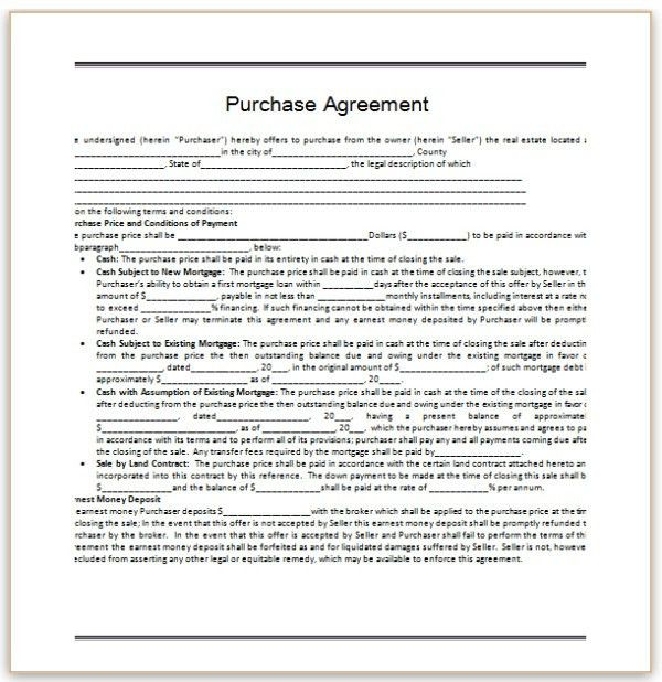 45 Perfect Agreement Template Examples : Thogati