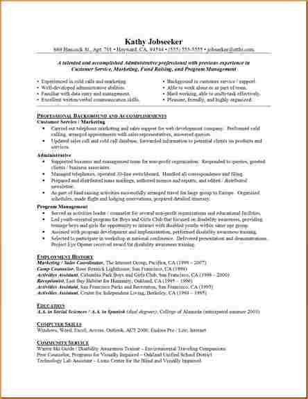 Administrative resumes samples - Business Proposal Templated ...