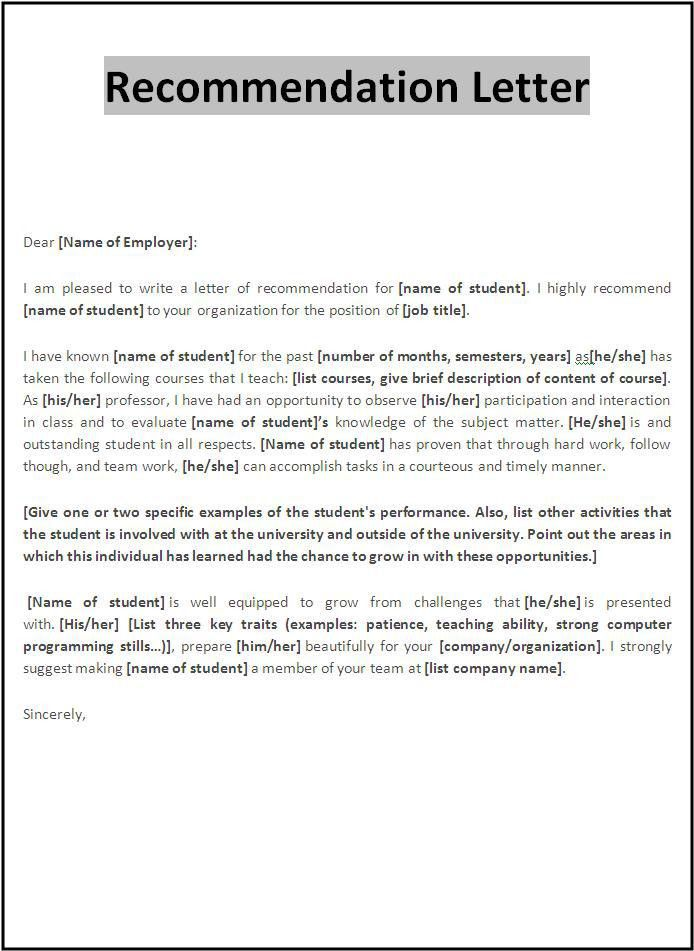 a sample of a recommendation letter. tippieuiowaedu a ...