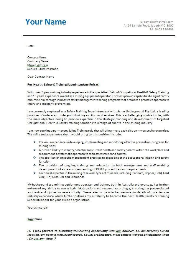 Business Letter Layout Australia | The Best Letter Sample