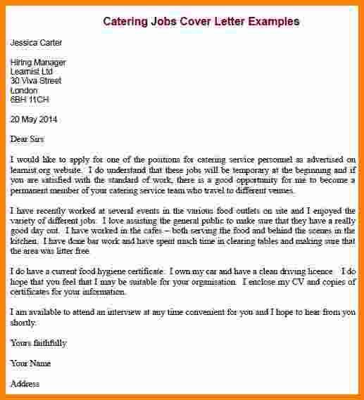 8 job application letter examples free | ledger paper