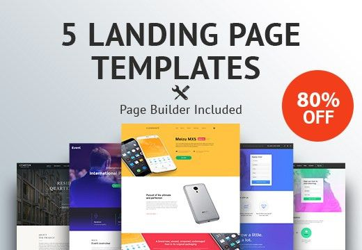 5 Premium Landing Page Templates for Only $19   InkyDeals
