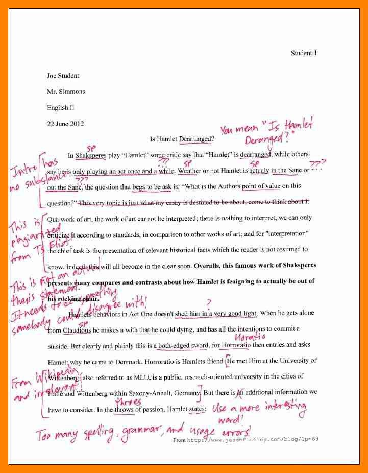 6+ essay mla format example | resumes great