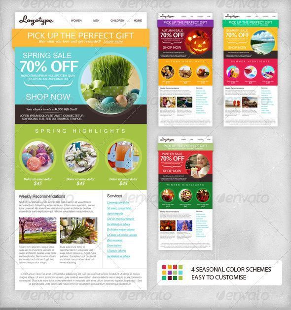 7 best Flyer Inspo images on Pinterest | Email marketing campaign ...