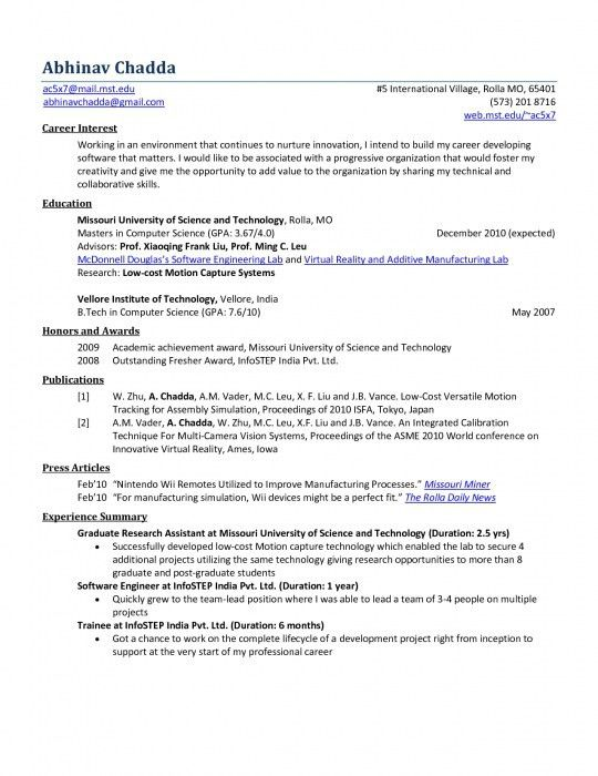 Awesome Sample Resumes For Freshers Engineers | Resume Format Web