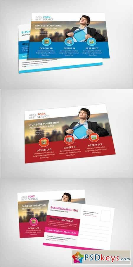 Marketing Postcard Template 151882 » Free Download Photoshop ...